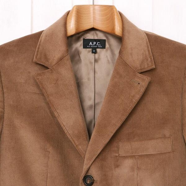 APC Tan Cord Jacket 1 APC Tan Cord Sport Coat
