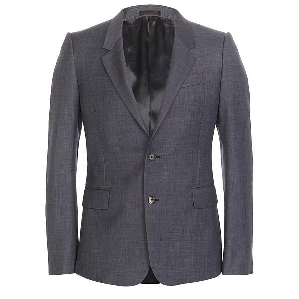 Alexander McQueen Spring   Summer 2010 Blue Wool Suit 01 Alexander McQueen Spring / Summer 2010 Blue Wool Suit