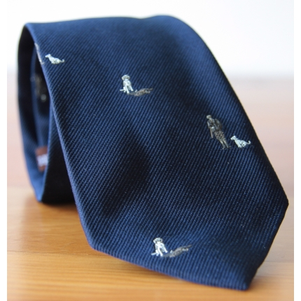 Alexander Olch Silk Hunter Tie
