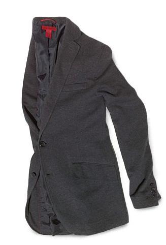Alfani Red Cotton Jersey Sportcoat