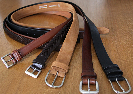 Andersons Belts for Studiohomme Andersons Belts for Studiohomme