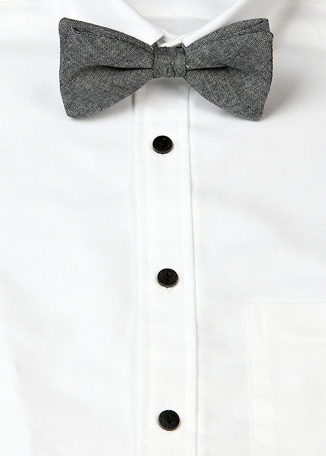 Blackbird Black Chambray Bowtie Blackbird Black Chambray Bowtie