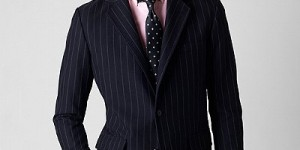 Brooks Brothers Fall 2010 Chalk Stripe Sportcoat 1