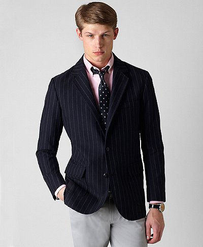 Brooks Brothers Fall 2010 Chalk Stripe Sportcoat 1 Brooks Brothers Fall 2010 Chalk Stripe Sportcoat