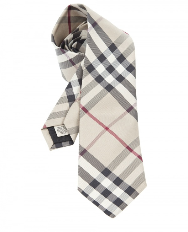 Burberry Silk Necktie Burberry Silk Necktie