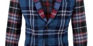 Comme Des Garçons Shirt Patchwork Plaid Sportcoat 1