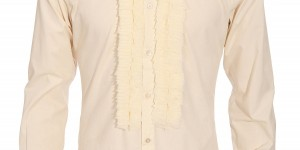 Costume National Silk Frill Shirt 1
