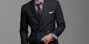 Double Breasted Ludlow Suit by J. Crew