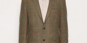 Gibson Chelsea Olive Check Sport Jacket 1