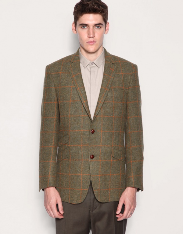 Gibson Chelsea Olive Check Sport Jacket 1 Gibson Chelsea Olive Check Sportcoat