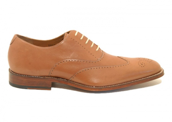 Grenson Noble Oxford 1 Grenson Noble Tan Oxford
