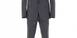 Grey Woolen Suit by Sefton 1