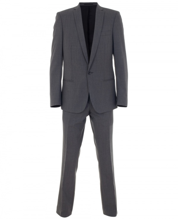 Grey Woolen Suit by Sefton 1 Grey Woolen Suit by Sefton