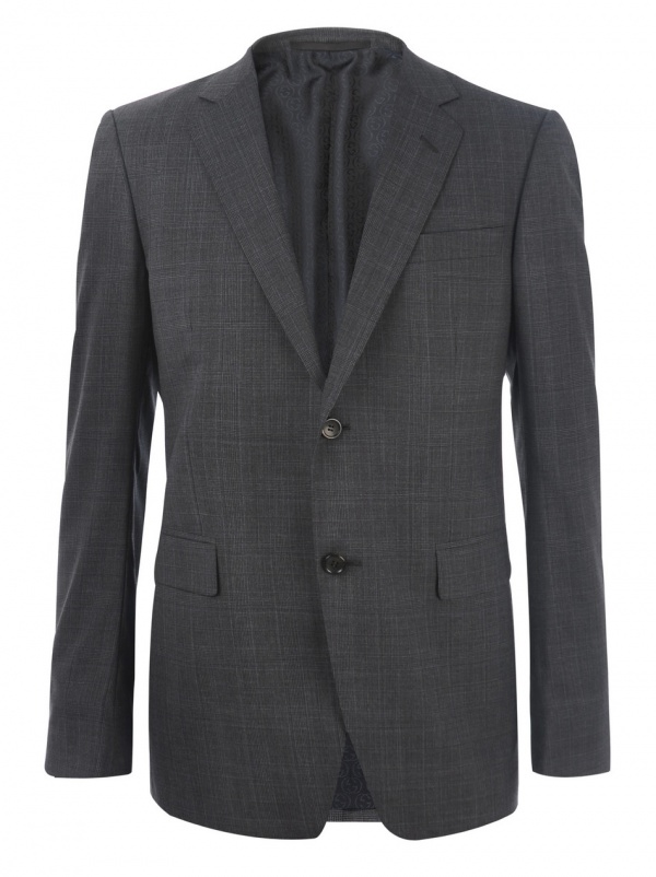 Gucci Prince of Wales Check 2 Button Suit 1 Gucci Prince of Wales Check 2 Button Suit