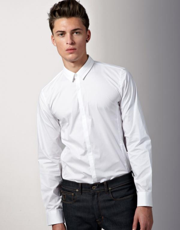 Hugo boss ely slim shirt suitored for Hugo boss slim dress shirt
