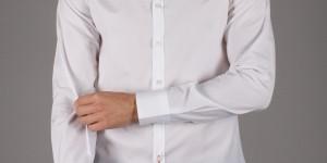 Il Rosso Skinny Collar Shirt 01
