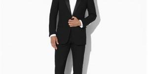 Ralph Lauren Anthony Wool Gabardine Tuxedo