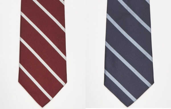 Striped Regimental Ties by J. Press 1 Striped Regimental Ties by J. Press