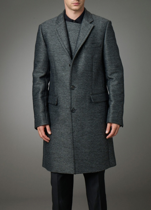 Techno Tweed Coat by Pringle of Scotland 1 Techno Tweed Coat by Pringle of Scotland