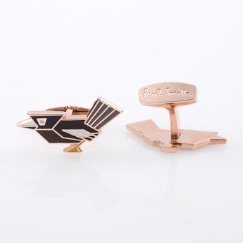 acxa cuff bird1 1 detaila 54718 Paul Smith Art Deco Bird Cufflinks