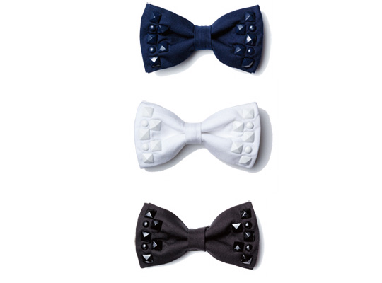 uniform experiment studs bow ties Uniform Experiment Studs Bowtie F/W 2010