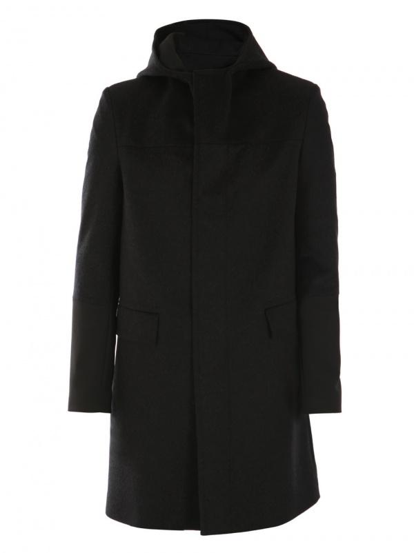 Balenciaga Contrast Cuff Coat 1 Balenciaga Contrast Cuff Coat