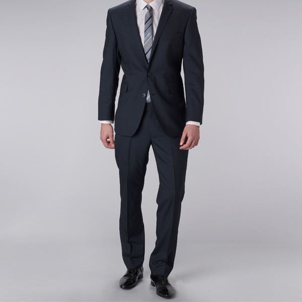 Ben Sherman Blue Plain City Fit Suit 1 Ben Sherman Blue Plain City Fit Suit