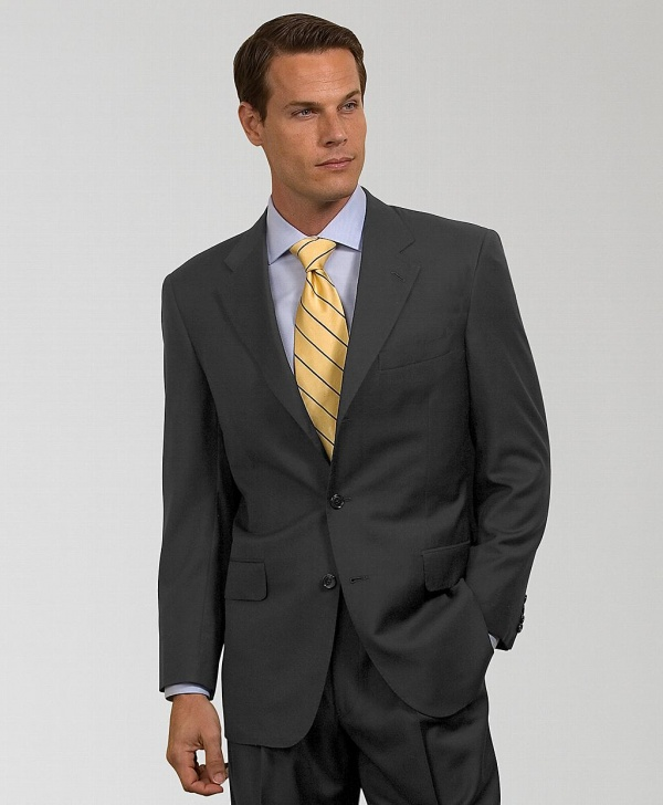 Brooks Brothers Golden Fleece Three Button Suit 1 Brooks Brothers Golden Fleece Three Button Suit