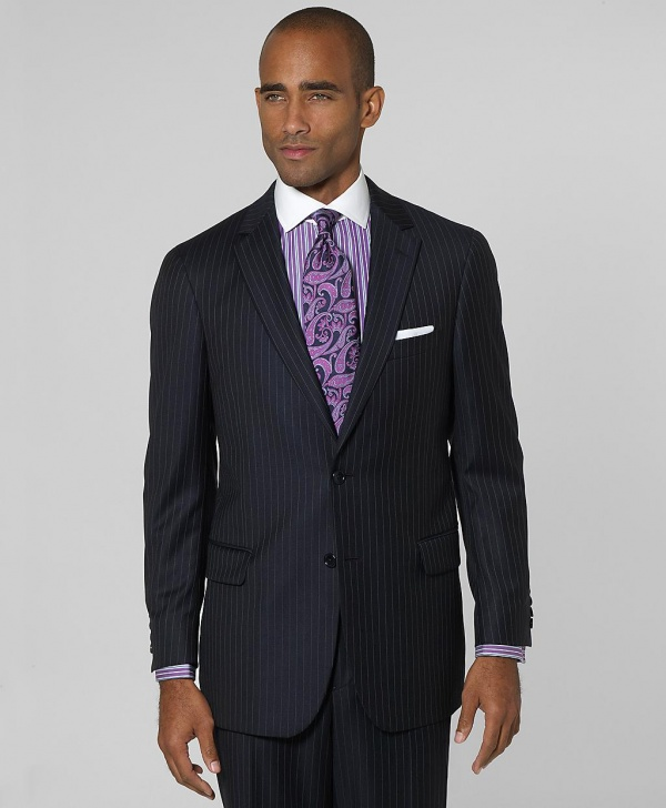 Brooks Brothers Milano Bead Stripe 1818 Suit 1 Brooks Brothers Milano Bead Stripe 1818 Suit