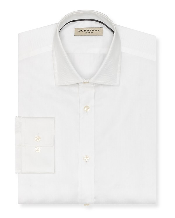Burberry Tonal Stripe Classic Fit Dress Shirt with Barrel Cuffs Burberry Tonal Stripe Dress Shirt with Barrel Cuffs