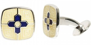 Center Cross Cufflinks by Barneys New York 1