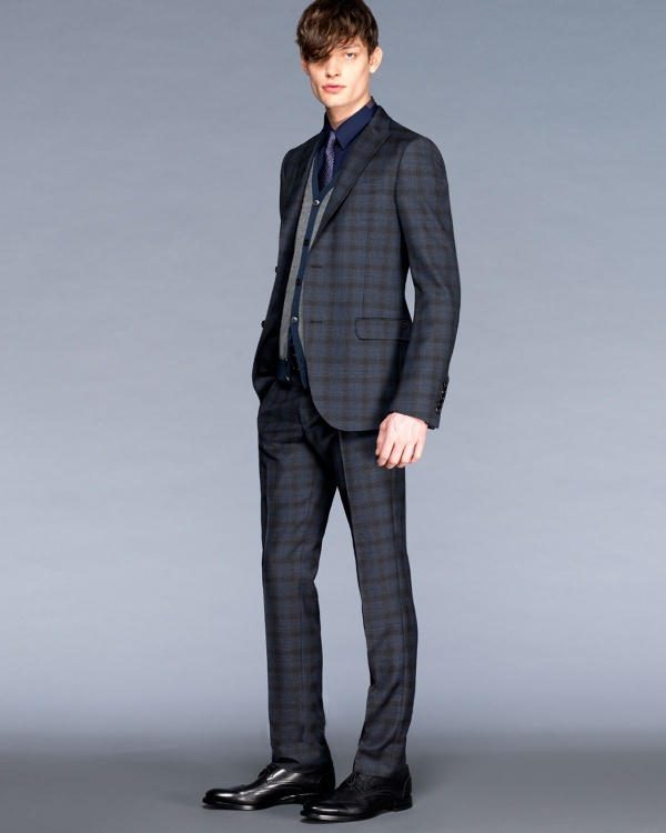 Gucci Glen Plaid Suit 01 Gucci Glen Plaid Suit