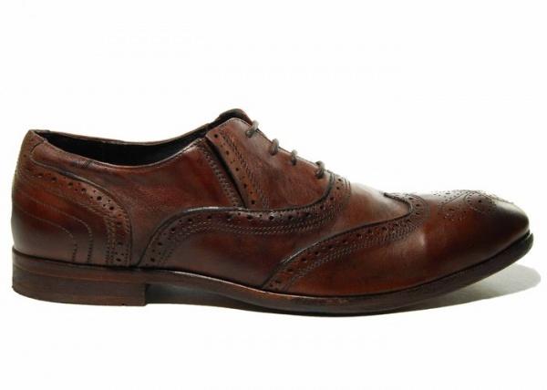 H by Hudson Rafferty Almond Toe Wingtip Oxfords 1 H by Hudson Rafferty Almond Toe Wingtip Oxfords
