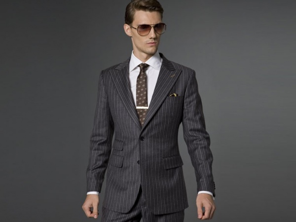 Indochino The Flannel Pinstriped Suit Indochino The Flannel Pinstriped Suit