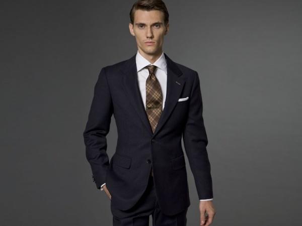 Indochino The Walker Navy Tweed Suit Indochino The Walker Navy Tweed Suit