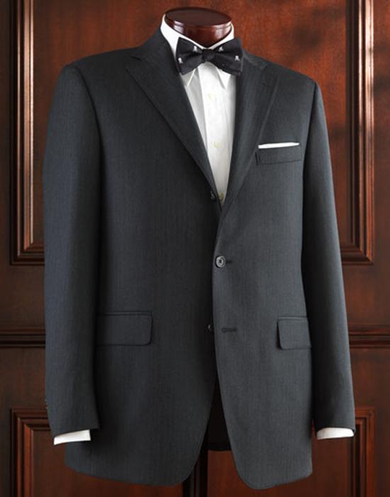 J. Press Charcoal Grey Herringbone Pressclusive Sack Suit J. Press Charcoal Grey Herringbone Pressclusive Sack Suit