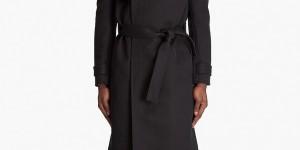 Kris van Assche Belted Coat 1