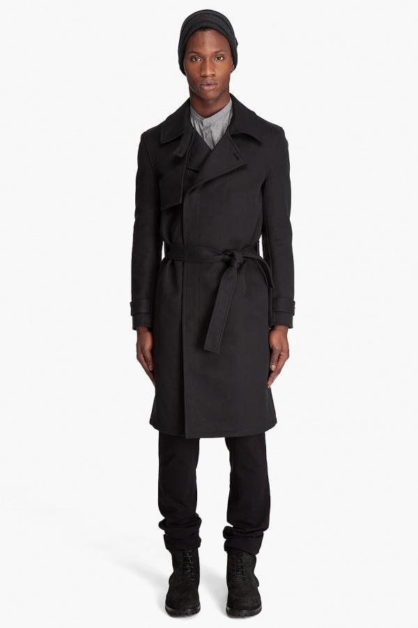 Kris van Assche Belted Coat 1 Kris van Assche Belted Coat