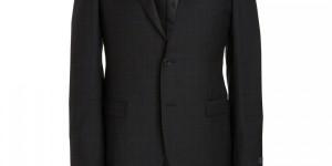 Lanvin Two Piece Mini-Windowpane Suit