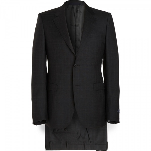 Lanvin Two Piece Mini Windowpane Suit Lanvin Two Piece Mini Windowpane Suit