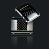 Mens Metals Titanium Carbon Fiber Cufflinks