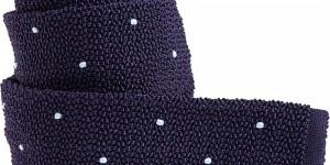 Michael Drake Knit Dot Tie