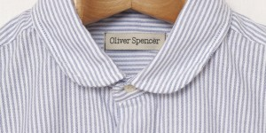 Oliver Spencer Blue Eton Collar Shirt 1