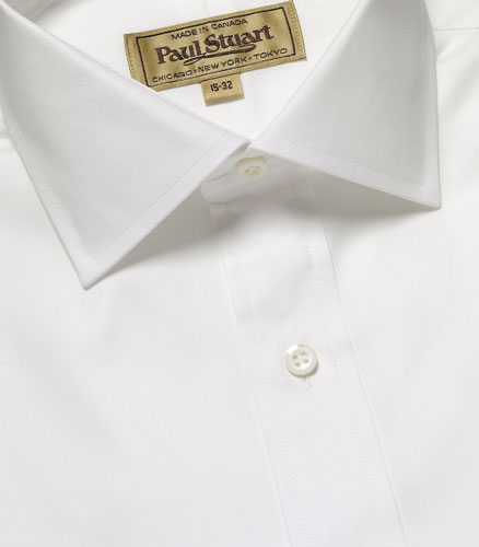 Paul Stuart Sussex Pinpoint Shirt Paul Stuart Sussex Pinpoint Shirt