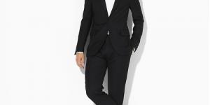 Ralph Lauren Polo Peak Lapel Tuxedo