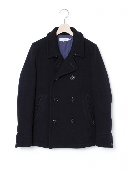nonnative Melton Wool Mix Pilot Coat 2 nonnative Melton Wool Mix Pilot Coat