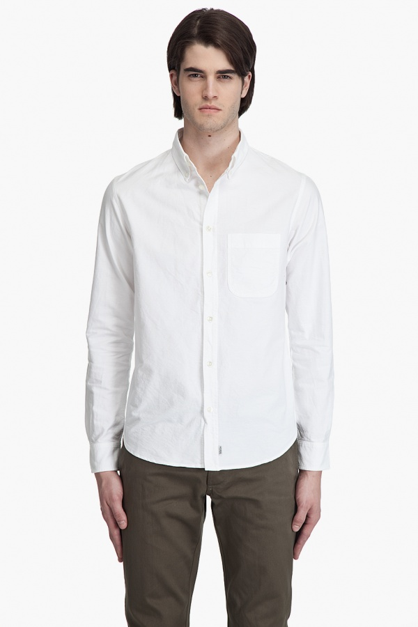 wings + horns Oxford Button Down Shirt 1 wings + horns Oxford Button Down Shirt