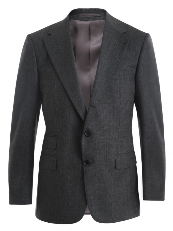 A. Sauvage Two Piece Grey Suit 1 A. Sauvage Two Piece Grey Suit