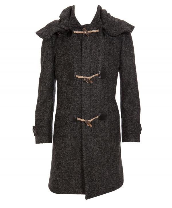 Alexander McQueen Wool Mix Toggle Coat 1 Alexander McQueen Wool Mix Toggle Coat