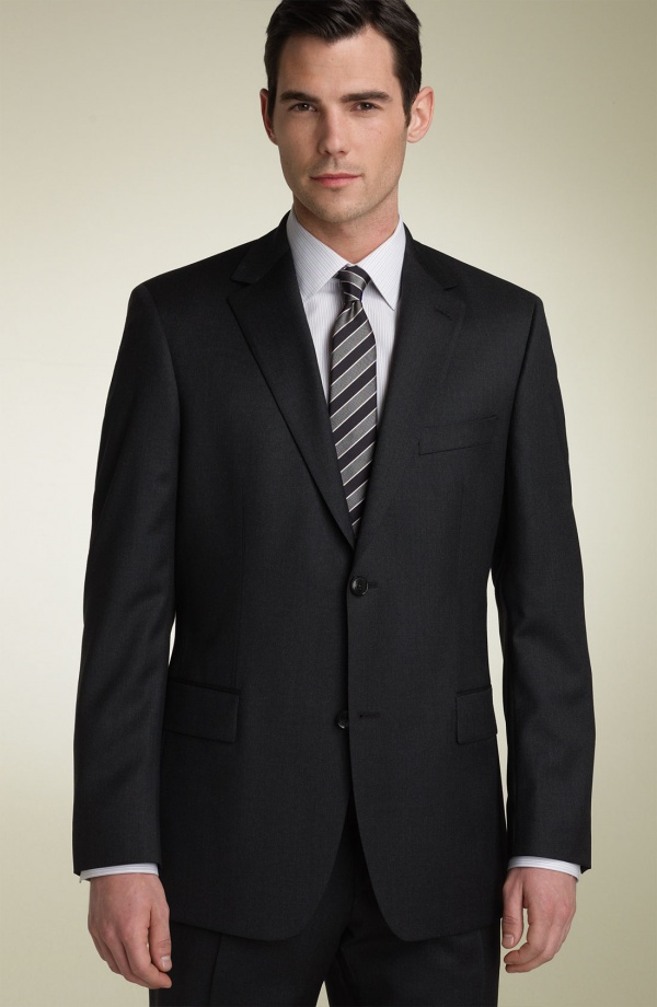 BOSS Black PasoliniMovie Charcoal Suit 1 BOSS Black Pasolini/Movie Charcoal Suit
